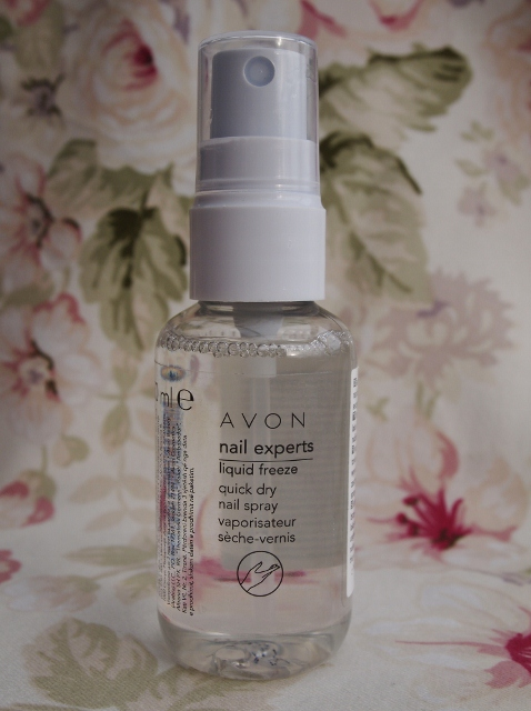 Avon Liquid Freeze Quick Dry Nail Spray Bewitchery