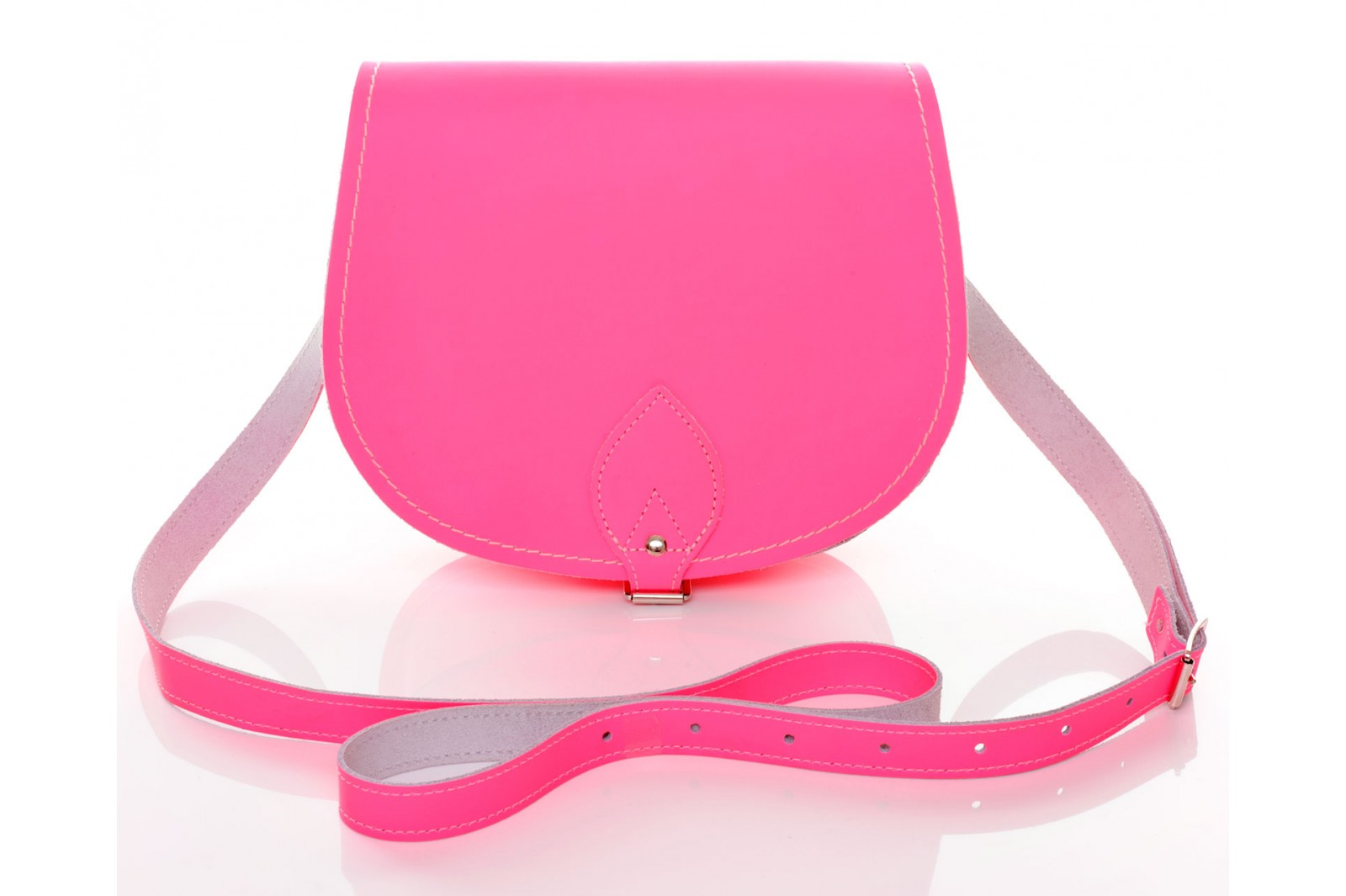 Zatchel Saddle Pink